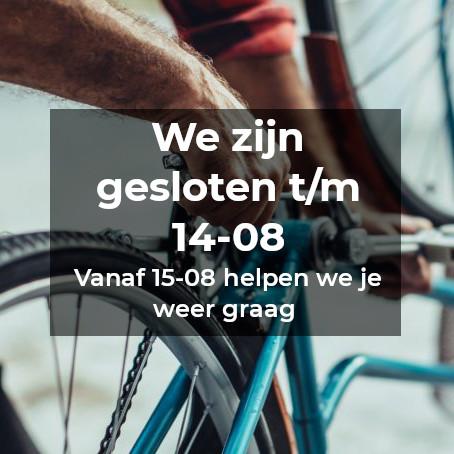 Afwezig fietsenhulp